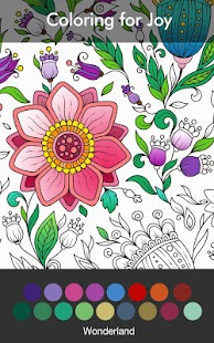 Coloring Book Enchanted Forest