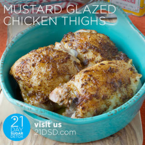 Mustard-Glazed Chicken Thighs