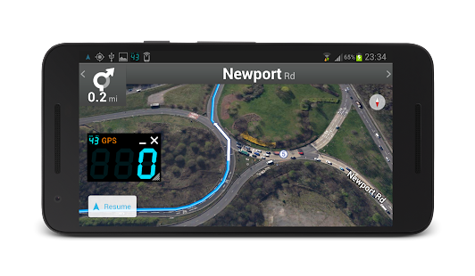 App DigiHUD Speedometer apk for kindle fire