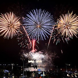 by Jen Ignacio - Abstract Fire & Fireworks