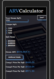 ARVCalculator Business app for Android Preview 1