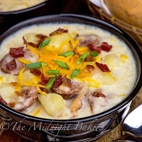 Slow Cooker Potato & Corn Chowder