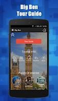 Screenshot of The Big Ben London TravelGuide