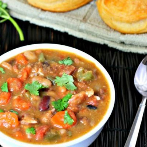 Chunky Turkey 15 Bean Soup