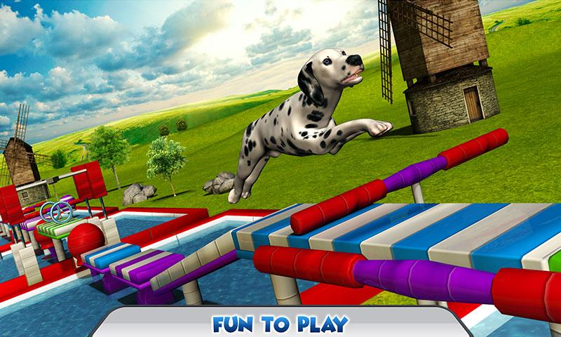 Stunt Dog Simulator 3D Screenshot 2