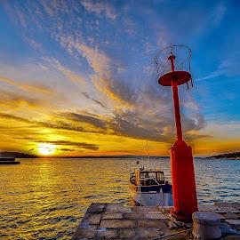 lonely boat by Eseker RI - Transportation Boats (  )