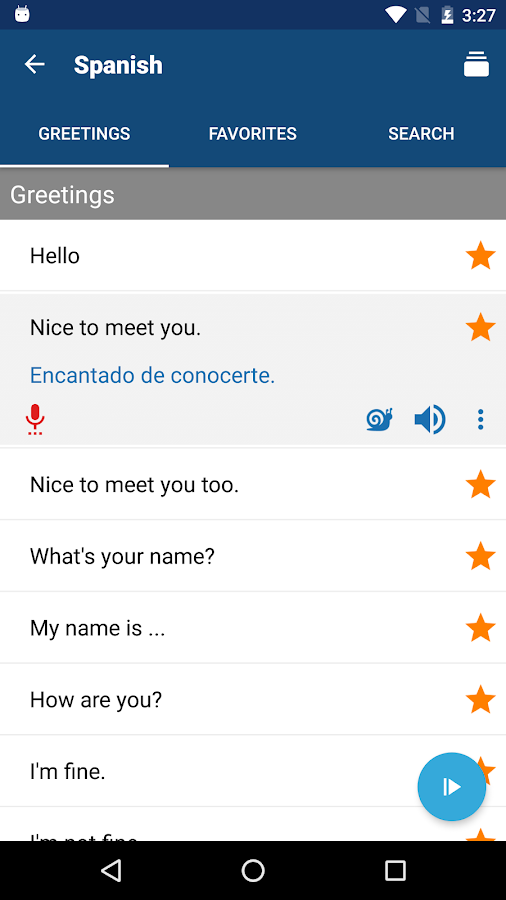 Phrasebook - Learn Languages Screenshot 1