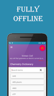 Chemistry Dictionary - screenshot
