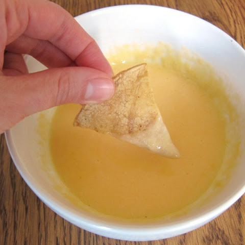 Microwave Nacho Cheese Dipping Sauce