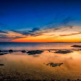 Sunset Mallorca by Michele Kerstholt - Landscapes Travel ( sunset, landscape photography, beach, mallorca, spain )