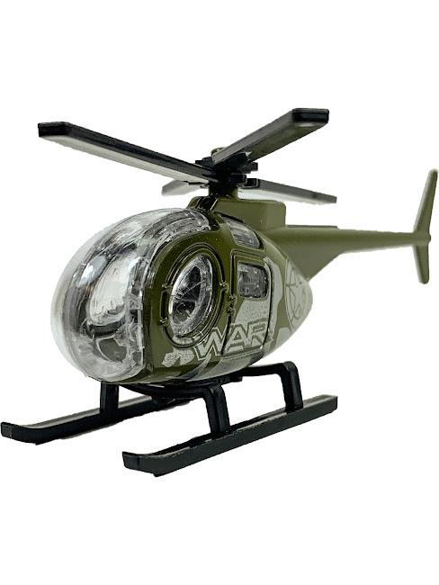 Машинка Военная, IQ Boy, Car, Mini, масштаб 1:64, Вертолет