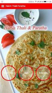 Harsh Thali And Parathas - screenshot