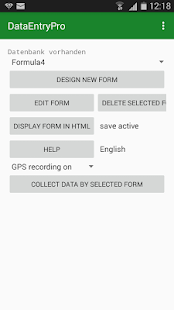 DEMPro - Data Entry Mobile Pro - screenshot