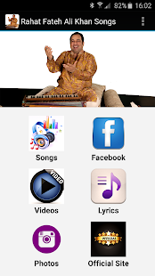 Rahat Fateh Ali Khan Songs - screenshot
