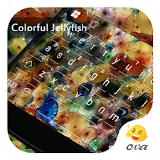 Colorful Jellyfish Keyboard