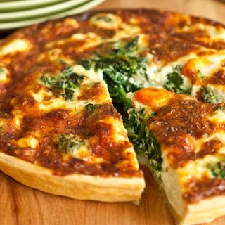 Spinach Parmesan Quiche Recipes