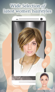 Hairstyles Woman Montage Maker - screenshot