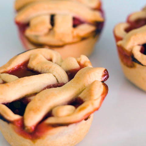 Mini Apple Berry Pies