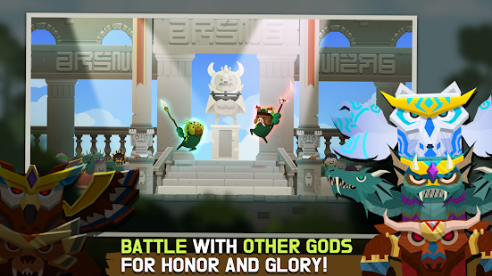 Marimo League : Be God, show Miracles on battles!