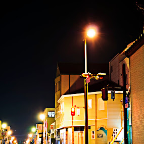 night light by Kusuma Bingung - City,  Street & Park  Street Scenes