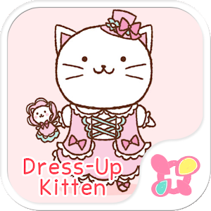 Cute wallpaper-Dress-Up Kitten