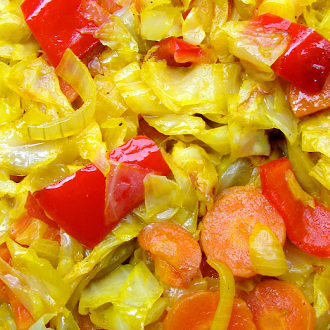 Sautéed Cabbage & Carrots With Caraway