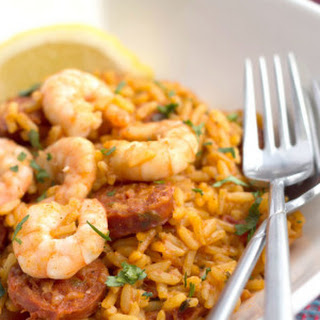 Shrimp and Chorizo Rice