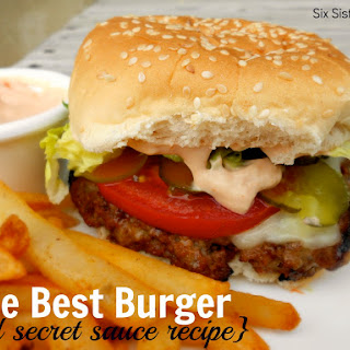 The Best Hamburger Recipe (and secret sauce)