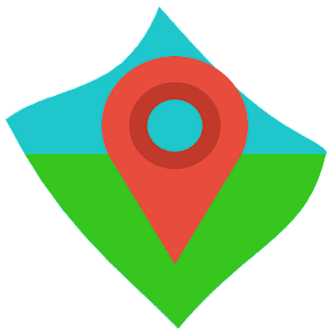 An App that gets locations and plot  to map, it has Speed calculation and Area APK Icon