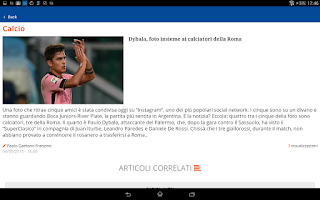 Screenshot of Sportitalia