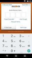 Screenshot of Discover Mobile