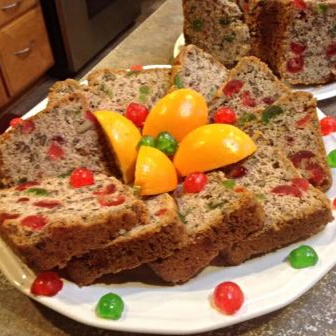 Mama's White Fruit Cake (Family Favorite)