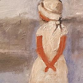Waiting by Vanja Škrobica - Illustration People