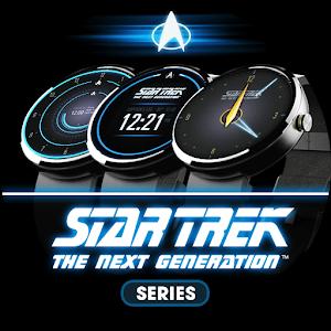Cover art Star Trek watch face series
