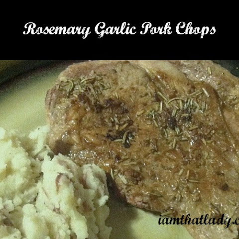 Rosemary Garlic Pork Chops