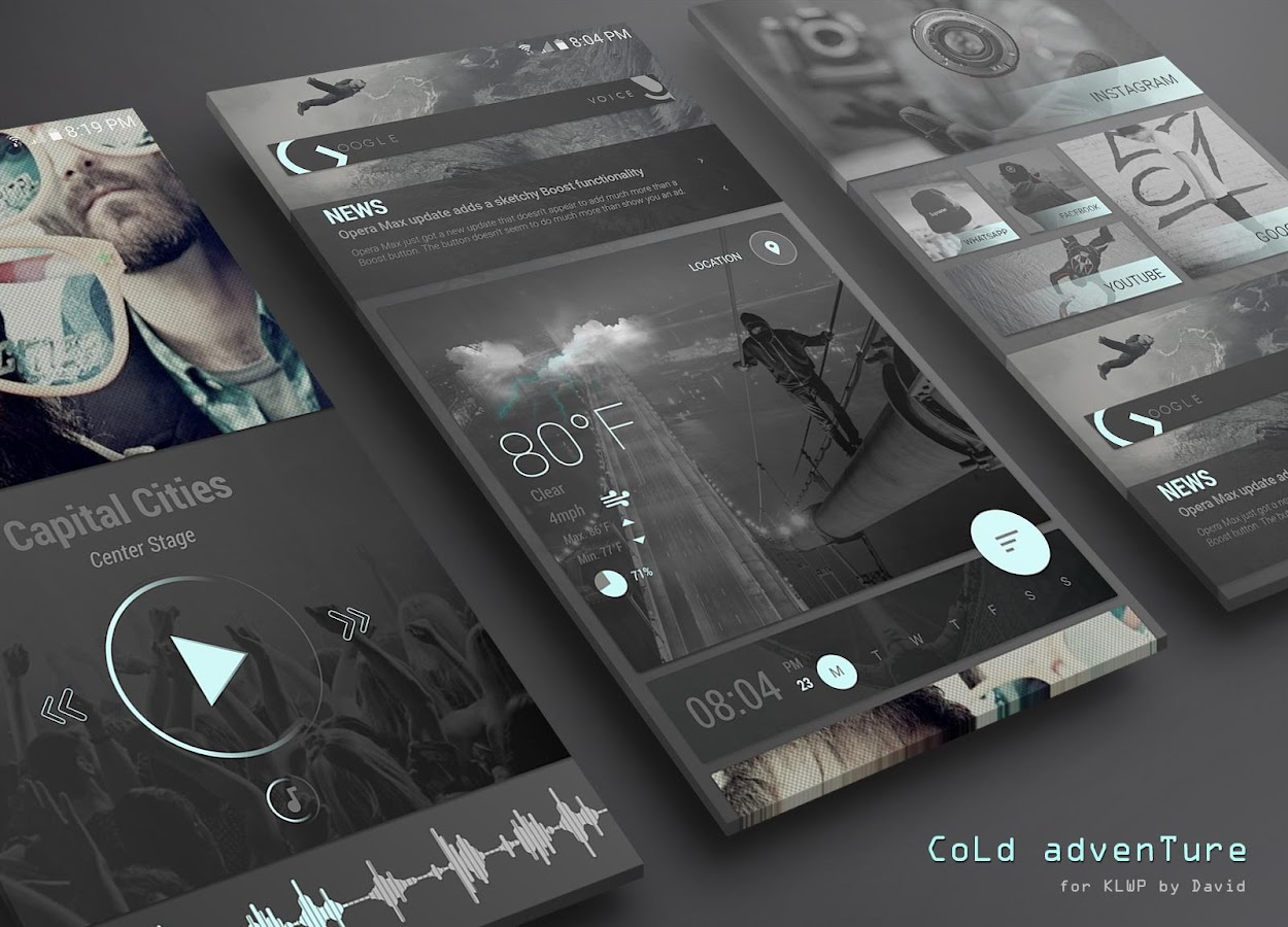CoLd advenTure for KLWP Screenshot 0