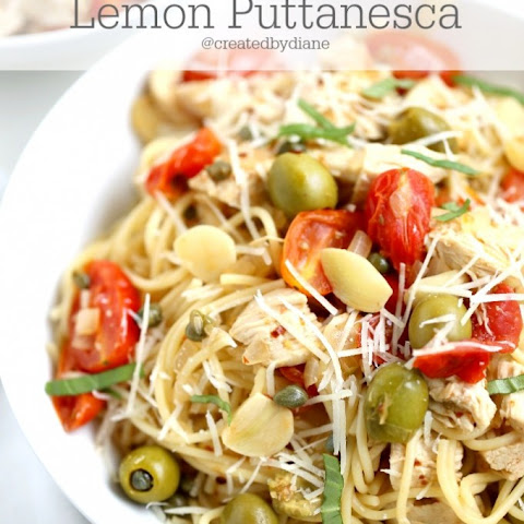 Lemon Puttanesca Pasta