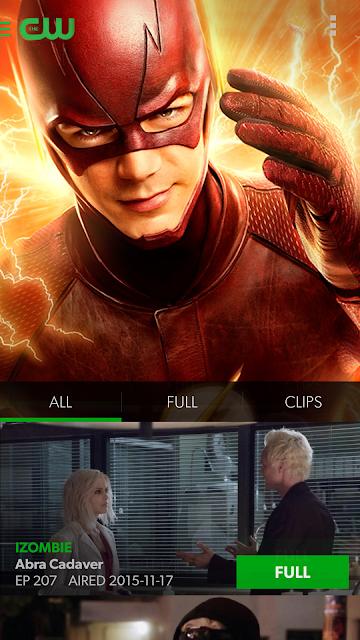 The CW screenshots