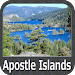 Apostle Islands GPS Map Navigator Icon