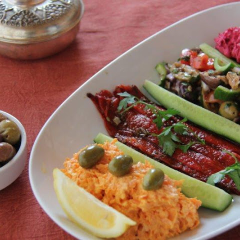 Turkish Meze Platter