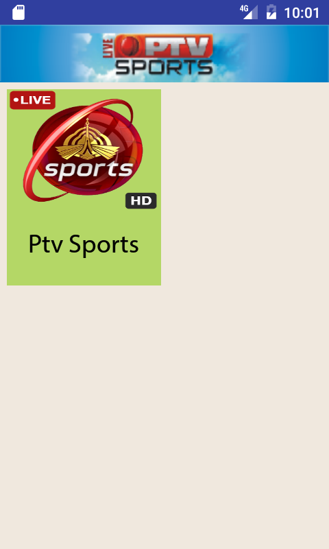 Ptv Sports Live Streaming HD — приложение на Android