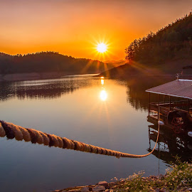 Lokve lake by Stanislav Horacek - Landscapes Sunsets & Sunrises