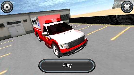 Ambulance Car Sim 3D - screenshot