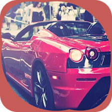 Red Cool Car Theme