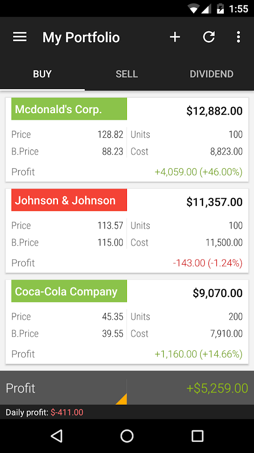 JStock Android - Stock Market Screenshot 4