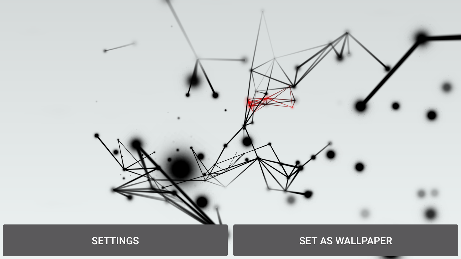 Abstract Particles Wallpaper Screenshot 16
