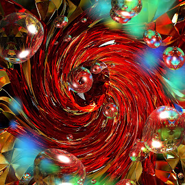 by Mill Tal - Digital Art Abstract