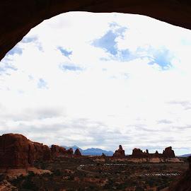 Window by Alexz Hernandez - Landscapes Caves & Formations ( national park, utah, arches, rock, landscape, geological, dessert, formation )