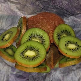 kiwi on the mirror by LADOCKi Elvira - Food & Drink Fruits & Vegetables