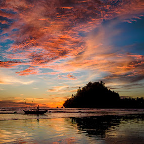 Pantai Air Manis by Syaiful Anwar - Landscapes Sunsets & Sunrises